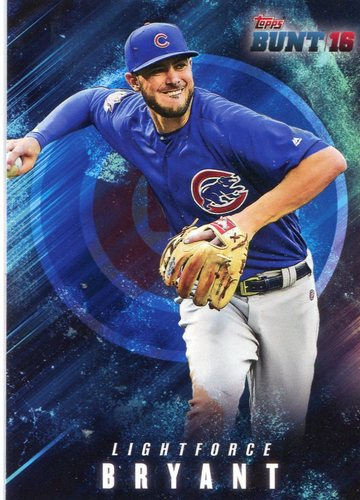 Photo of 2016 Topps Bunt Light Force #LF6 Kris Bryant