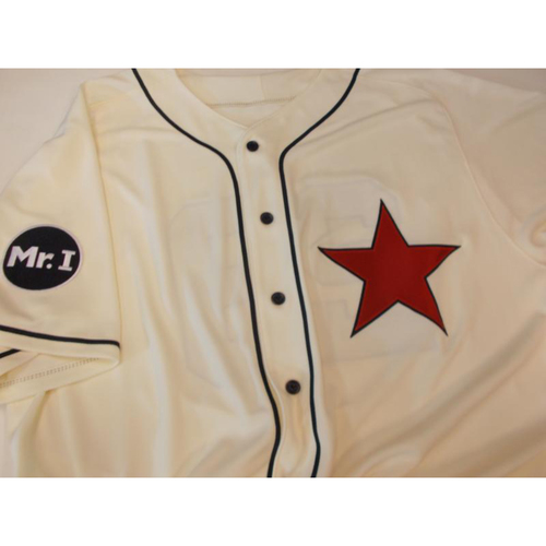Game-Used Detroit Stars Jersey: Dave Clark