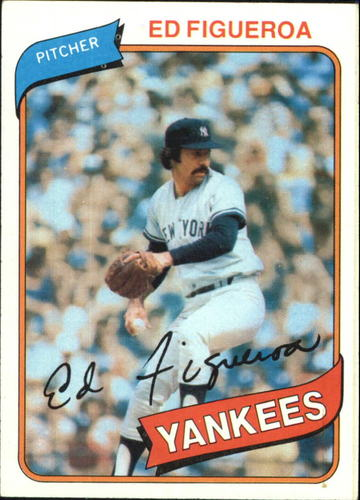 Photo of 1980 Topps #555 Ed Figueroa