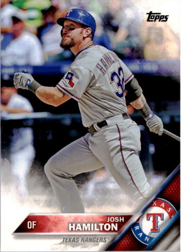 Photo of 2016 Topps #341A Josh Hamilton