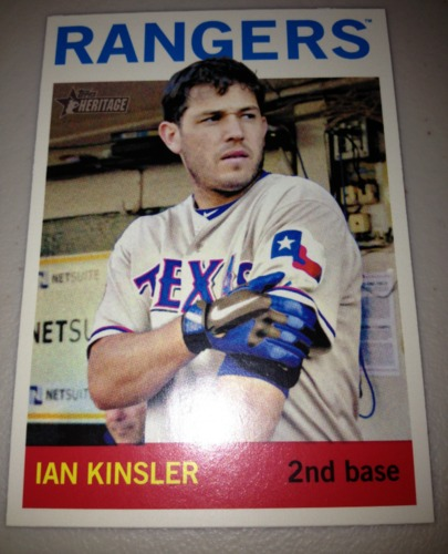 Photo of 2013 Topps Heritage #479 Ian Kinsler SP
