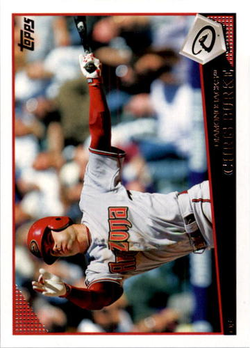 Photo of 2009 Topps #268 Chris Burke