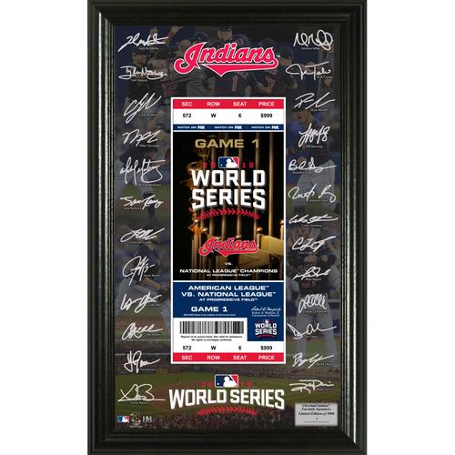 Photo of Serial #1! 2016 World Series Signature Ticket