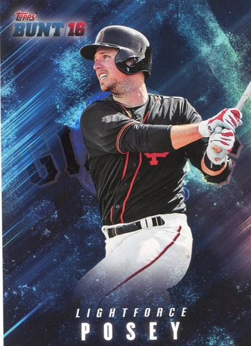 Photo of 2016 Topps Bunt Light Force #LF19 Buster Posey
