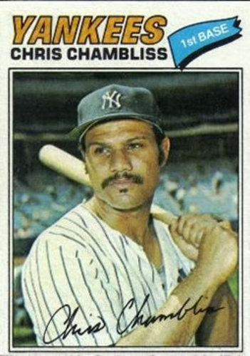 Photo of 1977 Topps #220 Chris Chambliss