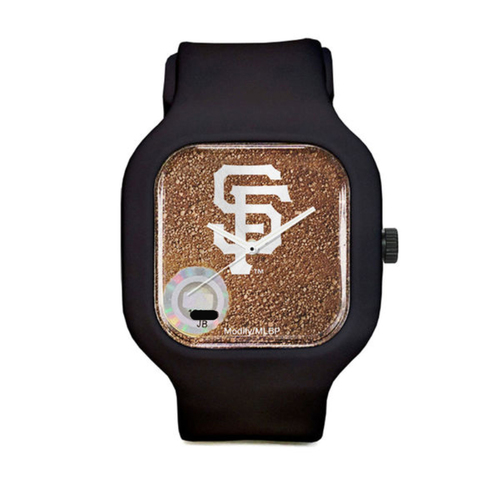 Photo of San Francisco Giants - Game-Used Dirt Watch - Sport Strap