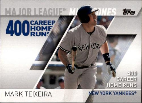 Photo of 2017 Topps Major League Milestones #MLM18 Mark Teixeira