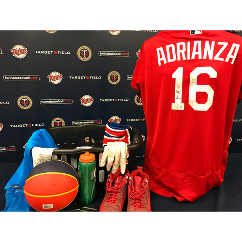 Photo of 2017 Twins Favorite Things Auction: Ehire Adrianza Favorite Things Basket