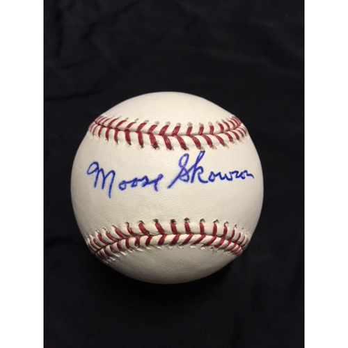 Photo of Moose Skowron Autographed Baseball