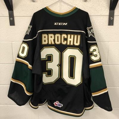 Brett Brochu Black Jersey