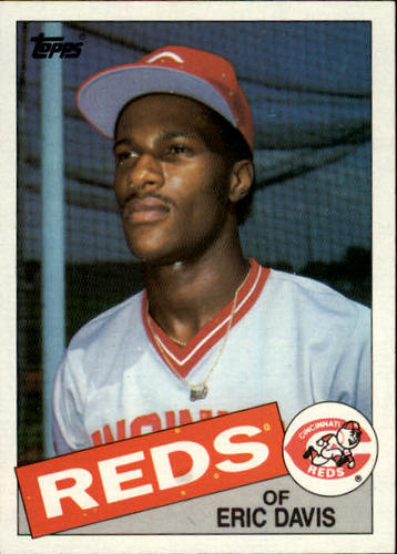 Photo of 1985 Topps #627 Eric Davis RC