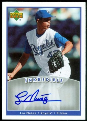 Photo of 2006 Upper Deck INKredible #LN Leo Nunez UPD
