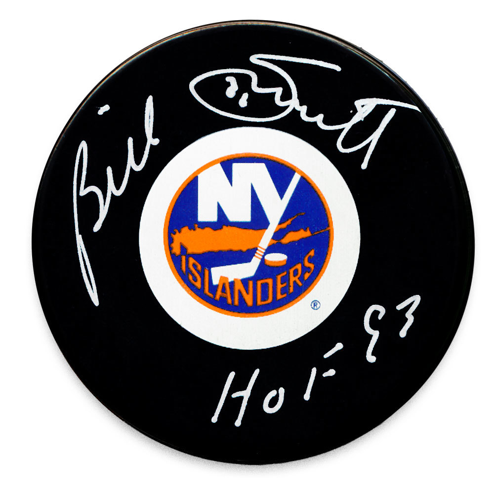 Billy Smith New York Islanders Autographed Puck