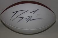 NFL - EAGLES DORIAL GREEN-BECKHAM SIGNED PANEL BALL (SMUDGED SIGNATURE)