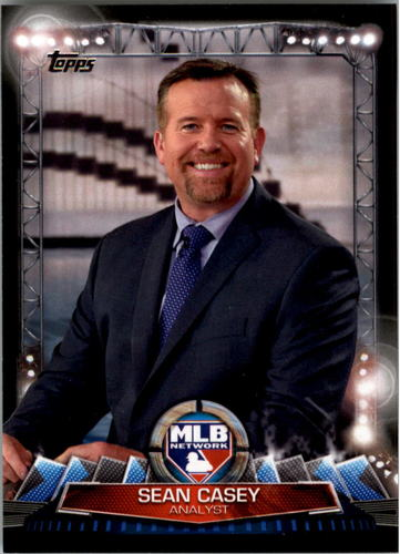 Photo of 2017 Topps MLB Network #MLBN7 Sean Casey