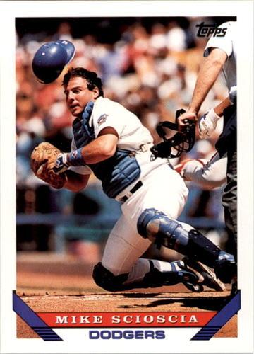 Photo of 1993 Topps #202 Mike Scioscia