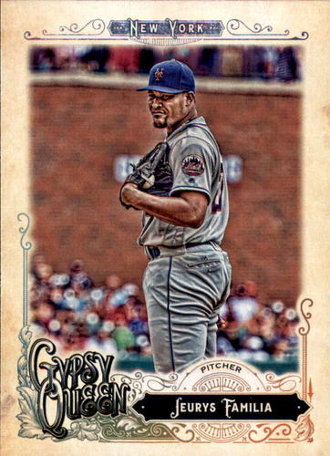 Photo of 2017 Topps Gypsy Queen #135 Jeurys Familia