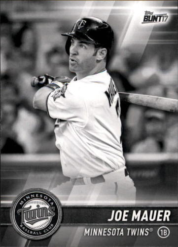 Photo of 2017 Topps Bunt Black #152 Joe Mauer