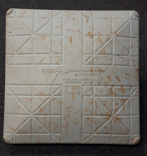 Authenticated Game Used Base - 3rd base for Innings 1 to 5: Minnesota at Toronto (August 3, 2015). Used for David Price's Blue Jays debut and 1st win as a Blue Jay.