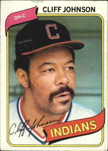 Photo of 1980 Topps #612 Cliff Johnson
