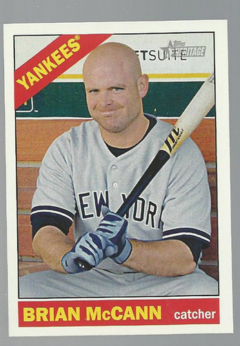 Photo of 2015 Topps Heritage #332 Brian McCann