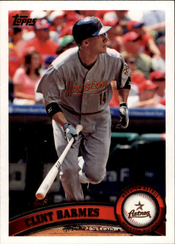 Photo of 2011 Topps #659 Clint Barmes
