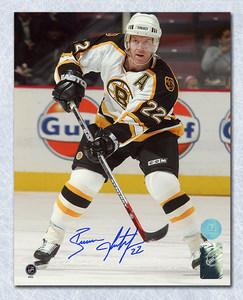 Brian Leetch Boston Bruins Autographed 8x10 Action Photo