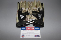 STS - BRONCOS DEREK WOLFE GAME WORN STS GLOVES (NOVEMBER 27 2016)