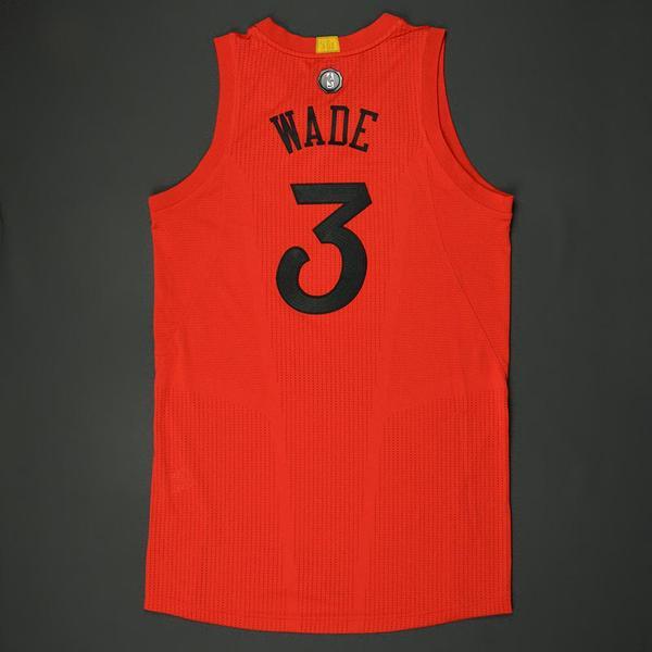 Dwyane Wade - Chicago Bulls - NBA Christmas Day \'16 - Game-Worn ...