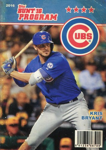 Photo of 2016 Topps Bunt Programs #P7 Kris Bryant