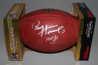 HOF - PACKERS PAUL HORNUNG SIGNED AUTHENTIC FOOTBALL