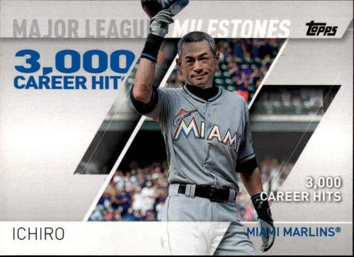 Photo of 2017 Topps Major League Milestones #MLM19 Ichiro