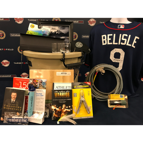 Photo of 2017 Twins Favorite Things Auction: Matt Belisle Favorite Things Basket