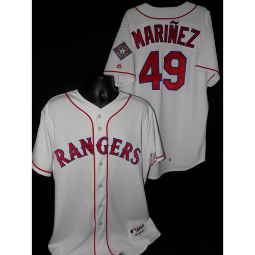 Jhan Marinez 2017 Game-Used Jersey