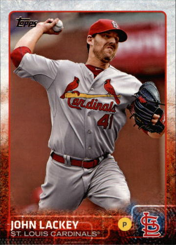Photo of 2015 Topps #488 John Lackey