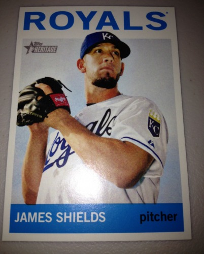 Photo of 2013 Topps Heritage #483 James Shields SP
