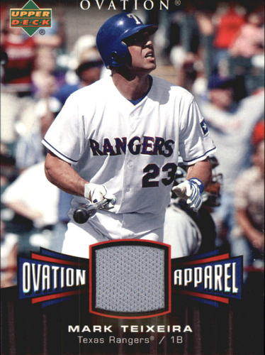 Photo of 2006 Upper Deck Ovation Apparel #MT Mark Teixeira Jsy