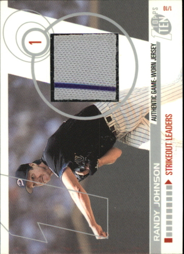 Photo of 2002 Topps Ten Relics #TTRRJ Randy Johnson Jsy A