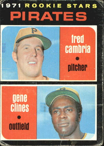 Photo of 1971 Topps #27 Rookie Stars/Fred Cambria RC/Gene Clines RC