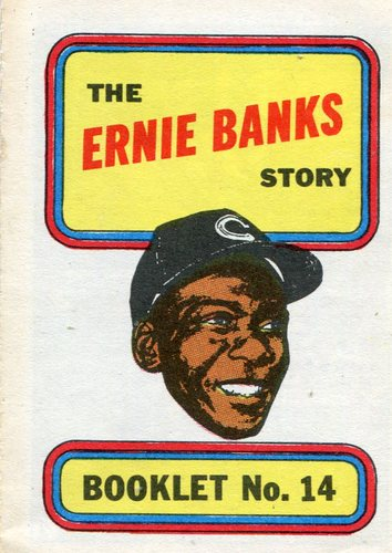 Photo of 1970 Topps Booklets #14 Ernie Banks