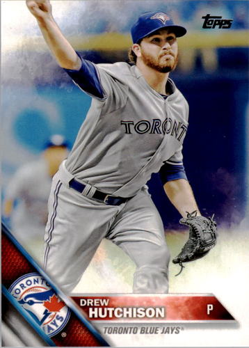 Photo of 2016 Topps #343 Drew Hutchison
