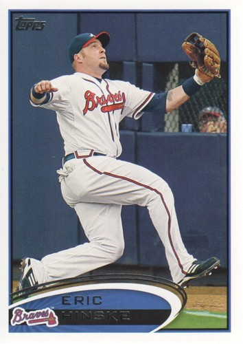 Photo of 2012 Topps #426 Eric Hinske