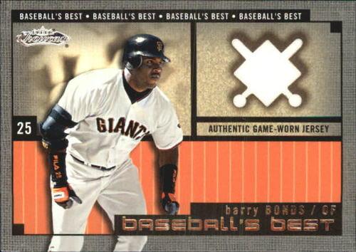Photo of 2002 Fleer Showcase Baseball's Best Memorabilia #2 Barry Bonds Jsy