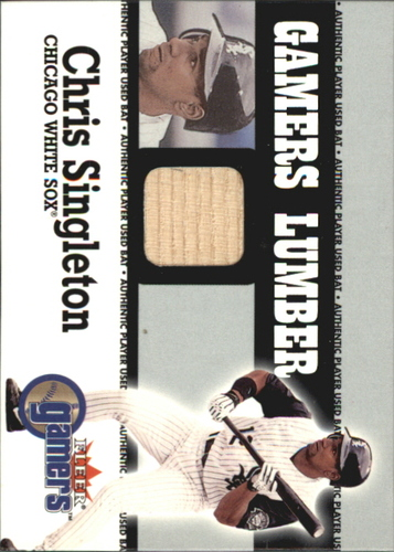 Photo of 2000 Fleer Gamers Lumber #41 Chris Singleton