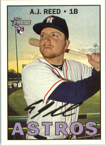 Photo of 2016 Topps Heritage #637 A.J. Reed RC
