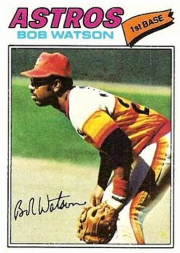 Photo of 1977 Topps #540 Bob Watson