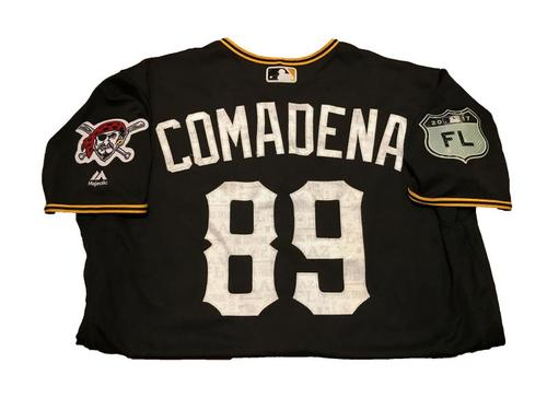 Photo of Jordan Comadena Team-Issued Spring Training Jersey