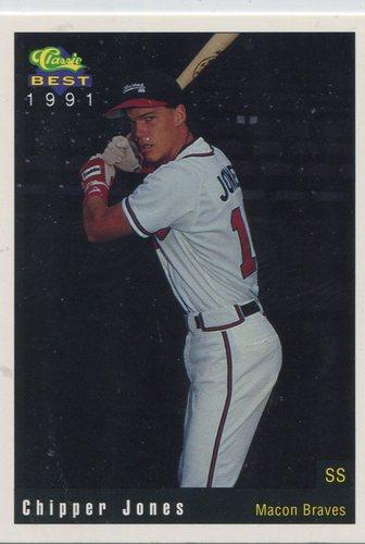 Photo of 1991 Macon Braves Classic/Best #19 Chipper Jones