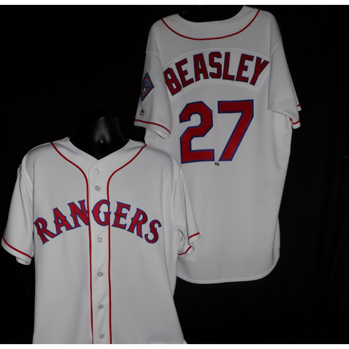 Photo of Tony Beasley 2017 Game-Used Jersey