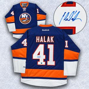 Jaroslav Halak New York Islanders Autographed Reebok Premier Jersey